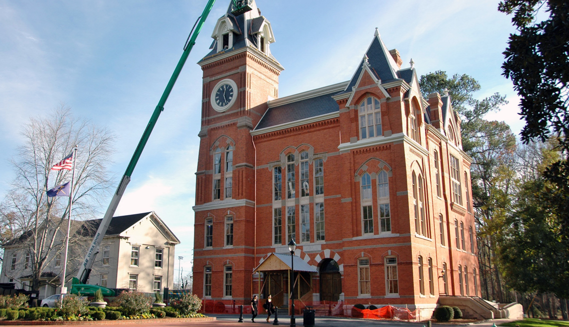 Historic Oxford Georgia building renewal