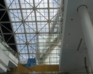 NBC Roofing Puerto Rico Convention Center glass skylight silicone sealant