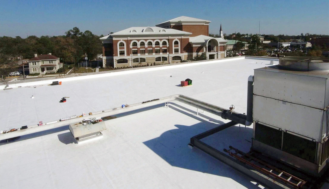 Valdosta Federal Courthouse TPO Single-Ply Roof