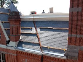 26,000 square feet of roof restoration