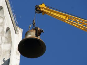 Historic church bell restoration